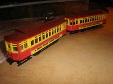 MEHANO 1/87 HO Strassenbahn Third Avenua Railway System    Neuwertig ohne OKT