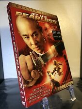 Fearless - DVD, Jet Li, Martial Arts, Great Slipcover!