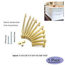 Gold Kitchen Cabinet Handles Knobs Brass Drawer Pulls Cabinet Hardware Modern