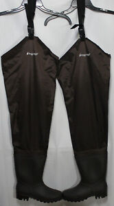 Men's Rana II Bootfoot PVC Cleated Hip Wader, Size 8 & 9, 2716249