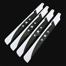2Pairs 325mm Carbon Fiber Main Rotor Blade for Align Trex 450 Helicopter