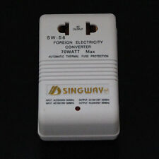 1x 70W power converter voltage converter 240v to 110v or 110 to 240v for travel