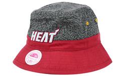 Mitchell & Ness Miami Heat NBA E-Print Bucket Cap Hat $30 Size S/M