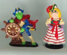 Muppet Treasure Island Kermit The Frog Miss Piggy Pvc Pirate Figure Set Applause