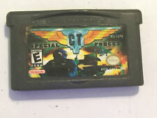 Game Boy Advance Gba + SP 1ST GEN DS CT fuerzas especiales Cartucho cuestionable Usa