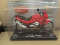 "DIE CAST  MOTO GUZZI "" QUOTA 1100 ES ""  SCALA 1/24"