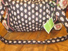 Vera Bradley Retired Classic Black Small Duffel Brand New with Tags