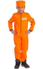 Convict/Prisoner/Inmate Orange Dress Costumes