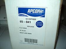 APCO AIR AC COMPRESSOR W/CLUTCH ASSY NEW 65-041 CHRYSLER DODGE PLYMOUTH
