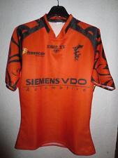 Maillot rugby porté FREEMEN'S n°7 Force XV orange worn shirt L JB