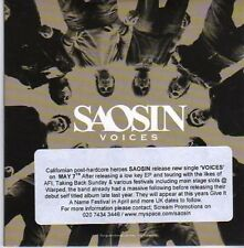 (AO915) Saosin, Voices - DJ CD