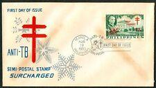 Philippine 1960 Anti-TB Semi Postal Stamp Surcharged FDC