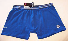 Top Gear Shield Mens Blue Printed Trunk Brief Size L New