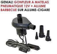SPECIAL CAMPING CAR CARAVANE MINI COMPRESSEUR GONFLEUR 12V MATELAS BALLONS BBQ