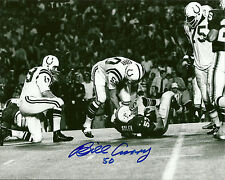 Colts BILL CURRY Signed 8x10 Auto Photo #2  Super Bowl V Champ