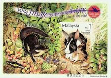 The Tame And The Wild Malaysia 2002 Rabbit Pet Animal (Imperf miniature) MNH