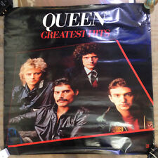 Queen Greatest Hits Rare 1981 Promo Poster 36x36