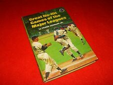 Vintage Baseball Book Great No Hit Games Major Leagues 1968 New York Yankees