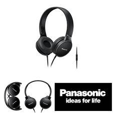 Panasonic rp-hf300m Externos Cómodo DJ Plegable Auriculares con en Línea Micro