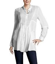 MARITHE' FRANCOIS GIRBAUD white shirt camicia camicetta donna bianca S BNWT