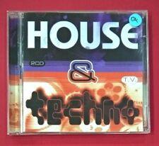 House&Techno - 2 CDs - USADO - BUEN ESTADO