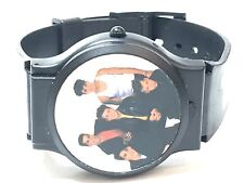 Vintage Nelsonic New Kids on the Block Quartz Wrist Watch w Picture Cover(1990B3