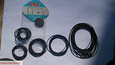 20pcs CD DVD Player Cassette Tape Machine Belts 25MM 30MM 35MM 38MM 40MM 45MM
