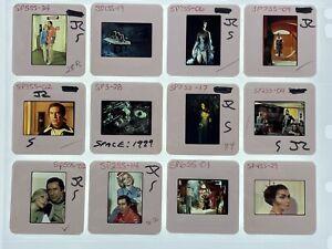 12 Space 1999 35mm Slides Sci-Fi TV Series Press Kit Publicity Promo Vtg Lot #2