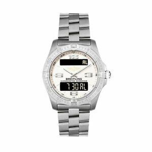 Breitling E7936210-G606-130E Aerospace Avantage 42MM Men's Titanium Watch