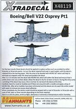NEW 1:48 Xtradecal X48119 Bell-Boeing V-22 Osprey Part 1