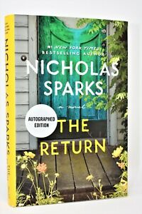 !!SIGNED 1st PRINT!! The Return AUTOGRAPHED by Nicholas Sparks