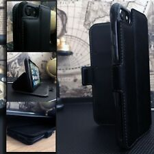2121™    Latest Real Leather Wallet  Case BLACK   For HUAWEI P30
