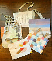 lot of 9 assorted medium-size Anthropologie gift shopping bags