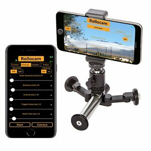 Rollocam H2 Face Tracking Intelligent, Portable Tripod Dolly for DSLR, Phone