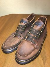 Eastland Boothbay Bomber Womens 5.5 M Brown Leather Ankle Shoes Boots New 2300