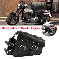 Motorrad Satteltasche Gepäck Reisetaschen für Harley Davidson Dyna Fat Bob FXDF