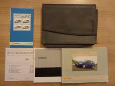 Renault Megane Owners Handbook/Manual and Wallet 06-09