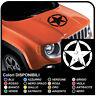 adesivo per cofano jeep renegade stella da apporre sul cofano effetto consumato