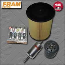 SERVICE KIT VOLVO S40 II 2.0 16V FRAM OIL AIR FUEL FILTERS PLUGS (2007-2012)