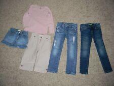 Girls Clothing Lot ~Jeans~Skirt~Shirt~Crop Pants~ H&M -OLD NAVY- OSH KOSh Size 5