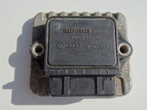 MODULE BOBINE ALLUMAGE VW GOLF 2 GTI 16S TELEFUNKEN 191905351B