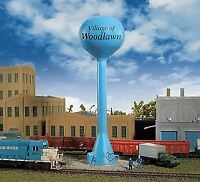 WALTHERS CORNERSTONE N SCALE MODERN WATER TOWER KIT 933-3814