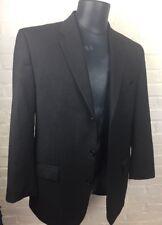 Mens Size 42L Calvin Klein Grey Pinstriped Suit Jacket