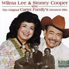 """WILMA LEE & STONEY COOPER, CD """"SING THE ORIGINAL CARTER FAMILY'S GREATEST HITS"""""""