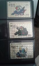 Bandai SD Gundam Super Deformed Carddass Prism Card Set (3 prism cards)