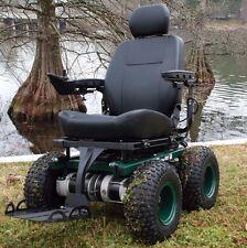 Cajun Commando 4x4  -All Terrain Wheelchair-  Power Wheelchair - Cajun Mobility