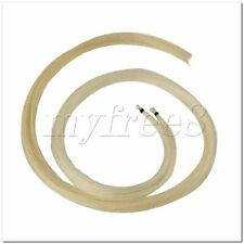 More details for 2 pieces 32inch length mongolian violin viola bow hair white for violin