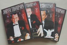 Factory Sealed - Johnny Thompson Commercial Classics of Magic 4 DVD Collection