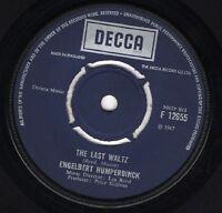 Engelbert Humperdinck  The Last Waltz / That Promise  1967 VG+