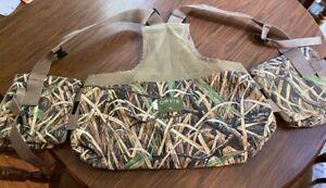 New - Orvis Dove/Upland Mesh Camo Hunting Vest - 3XL